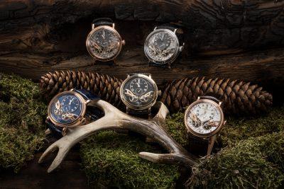 Carl von Zeyten Black Forest Watches