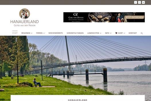 hanauerland.de, regionale Online Werbung
